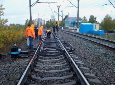 В связи с ремонтом произойдут изменения в движении поездов на Рахов
