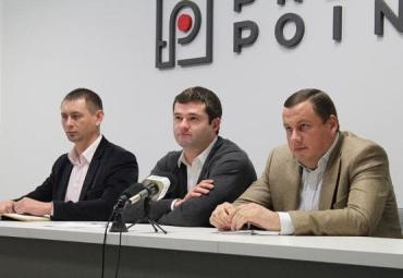 В городе Мукачево состоялась пресс-конференция Андрея Балоги