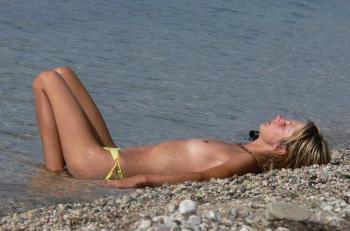 В Москве официальный нудистский пляж