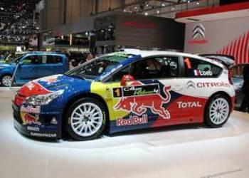 Citroen тестируют первый в мире гибридный болид WRC