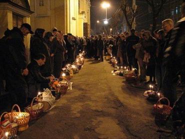 24 квітня в Ужгороді відбудеться освячення пасок