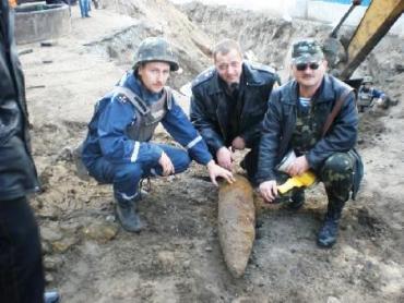 В Береговском районе обезвредили 5 артснарядов