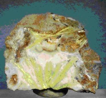 КАРПАТИТ - Karpathit - минерал в горах Закарпатья