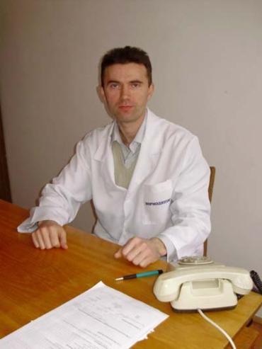 Ужгородський лікар-психіатр Віктор Бодня