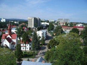 Популярный среди укранцев курортный Трускавец во Львовской области.