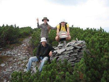 На Закарпатье промаркировали заново новые 100 км туристических маршрутов