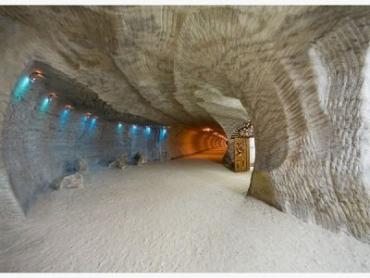 Соляные шахты в Закарпатье