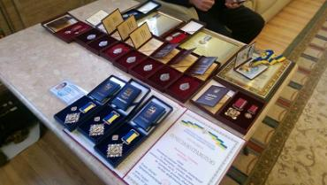 Выдающимся закарпатцам вручили государственные и областные награды