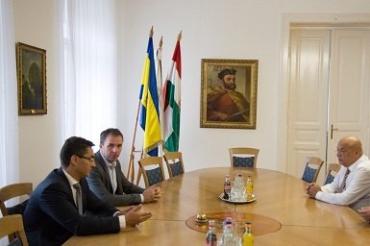 Г. Москаль встретился с главой лоукост-авиакомпании WizzAir Й. Варади
