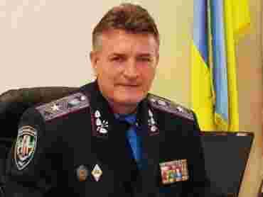 Колишній головний міліціонер Закарпаття Віктор Русин