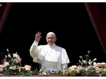 Папа Римский пожелал мира