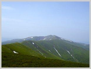 Гора Стой в Закарпатской области