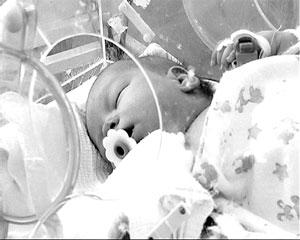 Малыш чудом остался жив