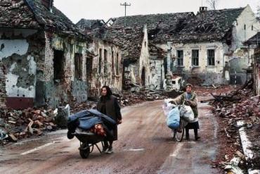 Разрушенный Вуковар