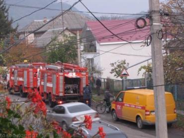 Офіційно про пожежу у місті Виноградів.