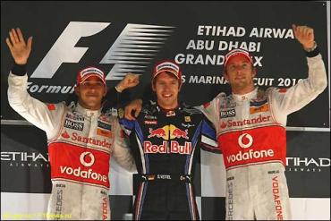 Гран При Абу-Даби: Победа и титул у Феттеля