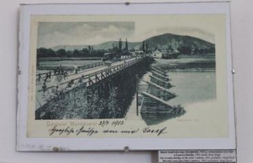 Строительство мостов в Мукачево сто лет назад