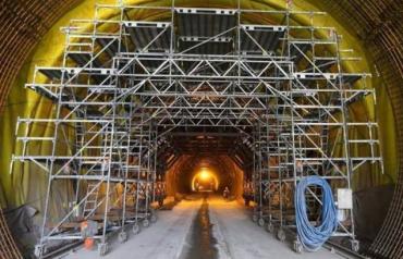 Бескидський тунель має щонайменше удвічі збільшити потік поїздів через Карпати