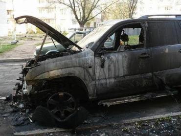 Ймовірна причина загорання – коротке замкнення електропроводки автомобіля