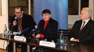 Савченко в Чехии