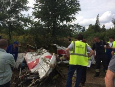 В Венгрии столкнулись два легкомоторных самолета