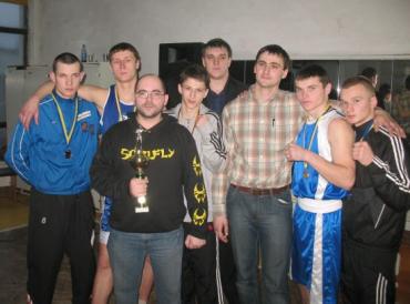 Перше командне місце зайняла команда Ужгородської федерації боксу