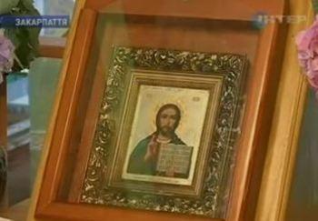 На Закарпатье к иконе Христа-Спасителя приходят тысячи паломников