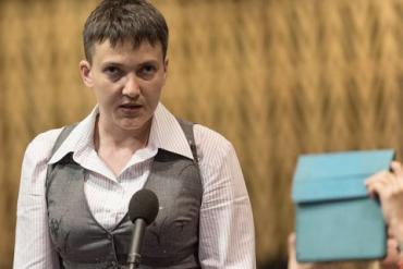 Савченко обвинила всех в бездеятельности по освобождению пленных