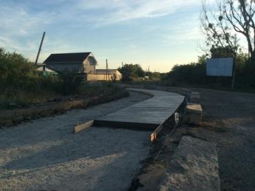 Мукачевскую объездную автодор начал ремонтировать по-европейски
