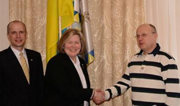 Федор Ващук встретился с делегацией колледжа из США