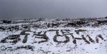 Жители Верховины в выходные уже увидели первый снег