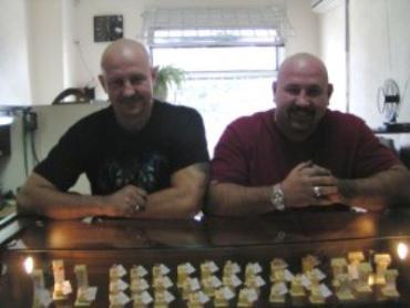Брати Євген і Павло Мудренки з Ужгорода