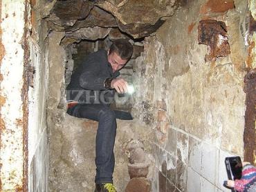 Мэр Ужгорода подписал распоряжение о обследовании бывшего ресторана «Скала»).