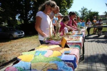 В День Дуная в Квасове дети создали карту Украины
