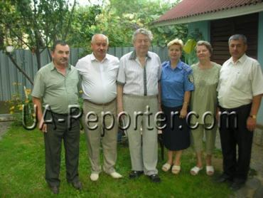 На 75-річчя до Леоніда Тимка завітала делегація ужгородських міліціонерів