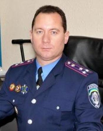 Полковник милиции Василий Турдай назначен начальником милиции Закарпатья