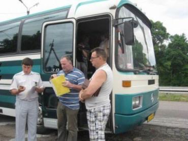ГАИ Закарпатья будет тщательнее проверять автобусы