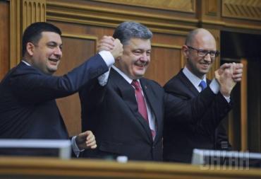 Рейтинг Порошенко характерен для худших периодов правления Ющенко и Януковича