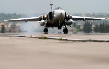 В Сирии разбился российский бомбардировщик
