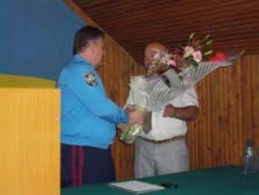 Начальника Ужгородської міліції Івана Цьоку провели на пенсію