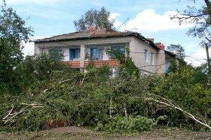 В Межгорском районе снесло крыши