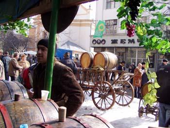 Берегово.IX Международный фестиваль вина.