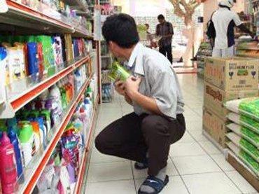 В Виноградово мужчина методично воровал из супермаркета