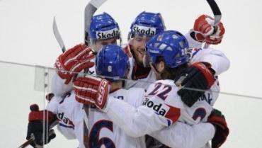 Сборная Чехии по хоккею в полуфинале чемпионата мира обыграла команду Швеции