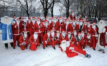 В Ужгороде Парад Николаев и Дедов Морозов ждите 19 декабря