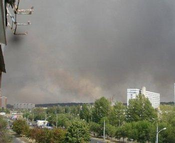 В Ужгороде за сутки сжигают столько мусора и листьев, что хватит на 5 поколений