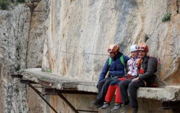 Опытные скалолазы признаются, что до сих пор боятся высоты