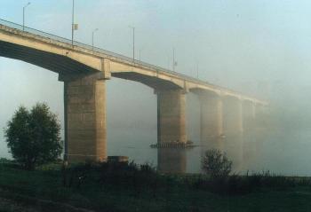 Мост в Ужгороде через реку Уж не в тумане, - он пока в проекте