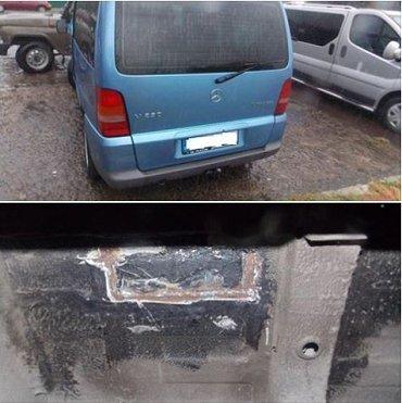На границе Закарпатье задержан автомобиль с поддельным номером