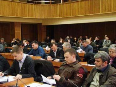 Ужгородська міська рада затвердила персональний склад постійних комісій
